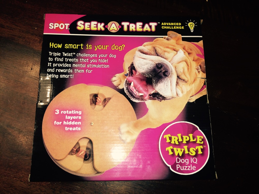 Dog Treat Spinner Box